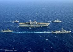 USS Saipan (LHA 2) and ships from Spanish, Moroccan and Algerian Navies