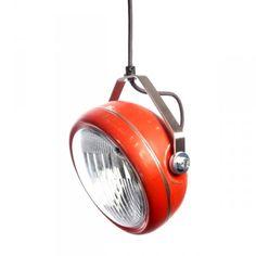 Vintage koplamp hanglamp