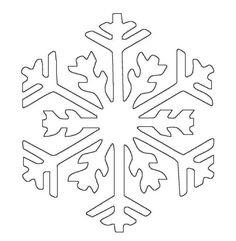 8 schneeflocke vorlage-ideen | schneeflocke vorlage