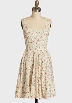 Enchanted Garden Floral Dress