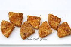 Bread Fruit Shallow Fry (Jeev Kadgi Phodi)