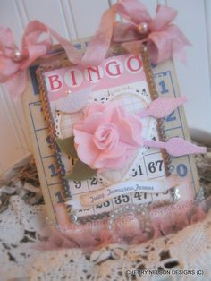 Items similar to vintage bingo card- WEDDING plaque gift- anniversary decoration- handmade shabby sign on Etsy Valentine Day Crafts, Vintage Valentines, Valentine Ideas, Wedding Plaques, Anniversary Decorations, Wedding Cards, Wedding Stuff, Handmade Tags, Beautiful Handmade Cards