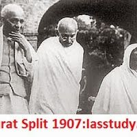 Indian National Movement- Surat Split of 1907