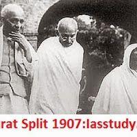 Indian National Movement- Surat Split of 1907