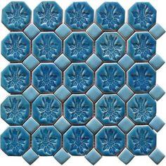 Ardea Mozaika Ceramiczna Tabarka Blue 250x250. Każdy wzór Ardea to nowoczesne i indywidualne podejście do wzoru.Wzory mozaik wpisują się w najnowsze trendy światowego designu wykraczające poza tradycyjne pojmowanie mozaiki.