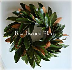 Hometalk | How to Preserve Magnolia Leaves & DIY Magnolia Wreath
