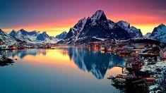 Reine, Norway in Lofoten Islands