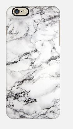 iPhone 6 case iPhone 6 case marble White by cellcasebythatsnancy