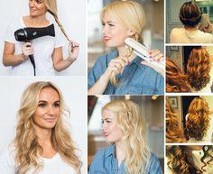 Cómo ondular el cabello de manera natural y rápida - http://www.entrepeinados.com/como-ondular-el-cabello-de-manera-natural-y-rapida.html