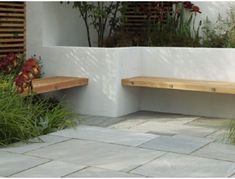 Buy garden paving slabs, Marshalls natural stone and slate paving from Turnbull. Practical concrete paving for perfect patios and paths FREE UK delivery packs. Garden Paving, Terrace Garden, Garden Stones, Concrete Paving, Paving Stones, Paving Slabs, Terraced Landscaping, Small Backyard Landscaping, Garden Ideas Budget Backyard