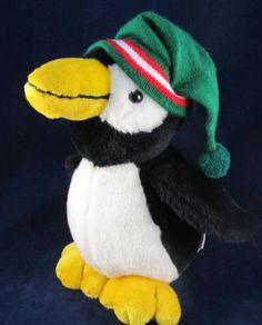 Commonwealth Black and White Plush Stuffed Penguin Soft Standing Animal Bird | eBay