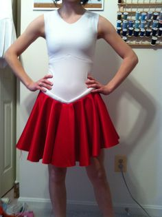 For when I make my sailor moon costume, or perhaps sailor cosmos. I had already found the pattern they suggest and thought would be good so. . . Go me!  Sailor Moon fuku tutorial :)