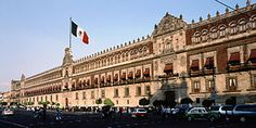 The National Palace, (or Palacio Nacional in Spanish), is the seat of the federal executive in Mexico. It is located on Mexico City's main s...
