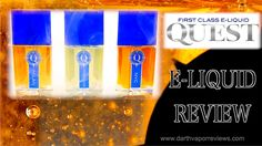 An 80VG/20PG blend, Quest is available in 60ml bottles in four nicotine levels. #vape #vaping #vapereviews #eliquid #ejuice