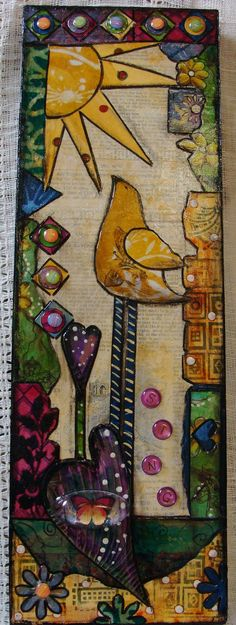 My Art Journal: Mixed Media Paintings