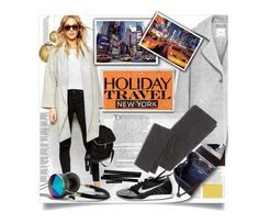 """Travel in Style, Holiday Edition"" by mariamharrasova ❤ liked on Polyvore featuring Balmain, H&M, ASOS, Tory Burch, MANGO, Abercrombie & Fitch, Madewell, TAXI and travelinstyle"
