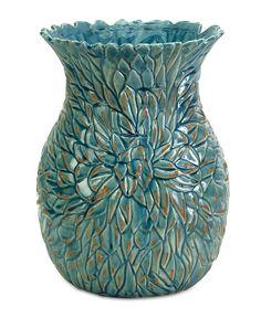 IMAX Lotus Leaves Vase & Reviews | Wayfair