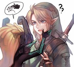 Midna and Link The Legend Of Zelda, Legend Of Zelda Memes, Legend Of Zelda Breath, Link And Midna, Link Zelda, Breath Of The Wild, Wind Waker, Manga Pictures, Cool Pictures
