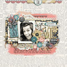Forever Young by Tickled Pink Studio Disaster Space 4 by Lauren Grier The Alpha Files No. 10 by Krystal Hartley