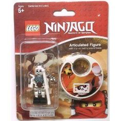 FRAKJAW LEGO Ninjago Articulated ClipOn Figure with Battle Sound