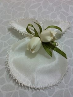 Wedding Favors, Wedding Gifts, Wedding Decorations, Thread Jewellery, Baby Pillows, Ribbon Embroidery, Gift Bags, Fabric Flowers, Decoupage