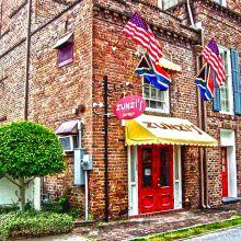 Zunzi's in Savannah, Georgia--allegedly the best sandwich in America.