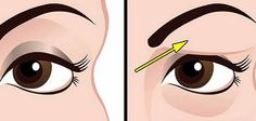 Saggy and droopy eyelids can be really annoying and makeup often looks unattractive on loose skin. Droopy eyelids may even make a person look much older. In general, droopy eyelids are a result of the natural Saggy Eyelids, Drooping Eyelids, Droopy Eyes, Beauty Care, Diy Beauty, Beauty Hacks, Natural Treatments, Natural Remedies, Loose Skin