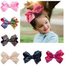 13 Pieces/lot Sequin Hair Bows With Clips For Kids Girls Boutique Handmade Plain Bling Knot Bows Hairgrips Hair Accessories Hair Accessories Baby Girl Hair Accessories, Baby Girl Hair Bows, Large Hair Bows, Baby Girl Headbands, Cute Baby Girl, Baby Girls, Kids Girls, Baby Bows, Wholesale Baby Clothes