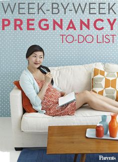Between preparing for baby and staying as healthy as possible, you have a lot to think about during the nine months of #pregnancy. Follow our week-by-week to-do lists to make it easy.