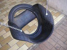 Los Neumáticos Hacen un Buen Columpio