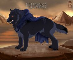 Audun 518 by Ulfrheim on DeviantArt Fantasy Wolf, Fantasy Beasts, Fantasy Art, Beast Creature, Unusual Animals, Anime Wolf, Warrior Cats, Ghostbusters, Furry Art