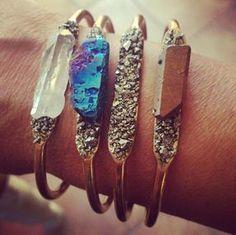 raw-crystal-and-pyrite-bangle