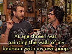"Rhett's genius emerged later in life.  ""Poop Picasso"""