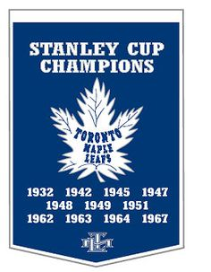 Dynasty Banner Of Toronto Maple Leafs With Team Color Double Matting-Framed Awesome & Beautiful-Must For A Championship Team Fan! Most NHL Team Dynasty Banners Available Toronto Maple Leafs Logo, Toronto Maple Leafs Wallpaper, Maple Leafs Hockey, Hockey Rules, Hockey Logos, Toronto Photography, Stanley Cup Champions, Pittsburgh Penguins Hockey, The Championship