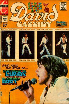 David Cassidy comic book (May 1973)
