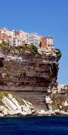 Bonifacio, Corsica, France.France is the most Visited Country in the World.