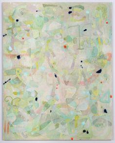 """Gossamer, 2014, oil on linen, 63"""" x 50"""""""