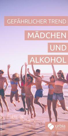 Zwar trinken Mädchen weniger Alkohol als Jungen, sie holen aber leider auf. Es werden sogar mehr junge Mädchen mit Alkoholvergiftung in Kliniken eingeliefert als Jungen. Woran liegt das? Können Eltern vorbeugen? Wie reagieren, wenn die Tochter angetrunken nach Hause kommt? #alkohol #teenager #prävention #gesundheit
