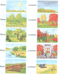 Лексические темы Октября - Дошкольное образовательное учреждение «Детский сад комбинированного вида №22 «Росинка» г.Ялта
