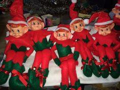 Vintage-Pixie-Elves-Knee-Huggers-Cuties-Shelf-Elf-18-Large
