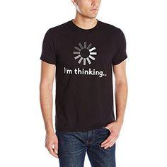 Hanes Men's Graphic Tee-Humor, I'm Thinking shirt