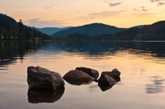 The world-famous black forest lake – Titisee