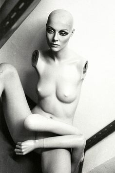 Black and White Photography Mannequin Art Secret by eleanors
