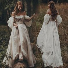 Fairytales Champagne dramatic Puff sleeves Wedding Dresses – Eternally Yours C. - - Fairytales Champagne dramatic Puff sleeves Wedding Dresses – Eternally Yours Custom Bridals Source by Boho Wedding Gown, Sweetheart Wedding Dress, Medieval Wedding Dresses, Fairy Wedding Dress, Viking Wedding Dress, Boho Gown, Lace Wedding, Fairy Dress, Wedding Hair