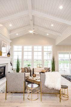 White Shiplap Ceiling Beams Wood Ceilings
