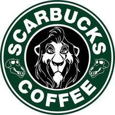 Starbucks Disney - Scarbucks Coffee