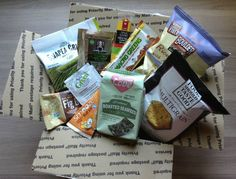 Vegan Cuts Snack Box Review - Healthy Food Subscription - July 2013