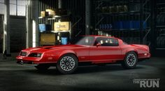 Pontiac Firebird Formula, Need for Speed The Run