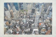 Germán Gómez, 7:18pm. April 30th. 2013. 20 West 34th Street. New York, 2013, c-print, paper, and varnish, 44 x 67 in  #BridgetteMayerGallery #GermanGomez