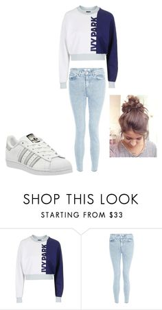 """""""Untitled #91"""" by jazel117 on Polyvore featuring Topshop, New Look and adidas"""